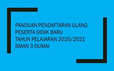 Panduan Pendaftaran Ulang PPDB Online 2020